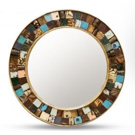 Кргулое зеркало из массива, САРИКА 3